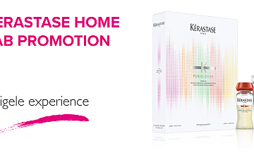 THE KERASTASE HOME LAB PROMOTION